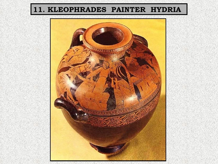 11. KLEOPHRADES  PAINTER  HYDRIA