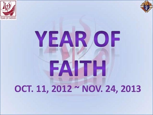 OCT. 11, 2012 ~ NOV. 24, 2013
