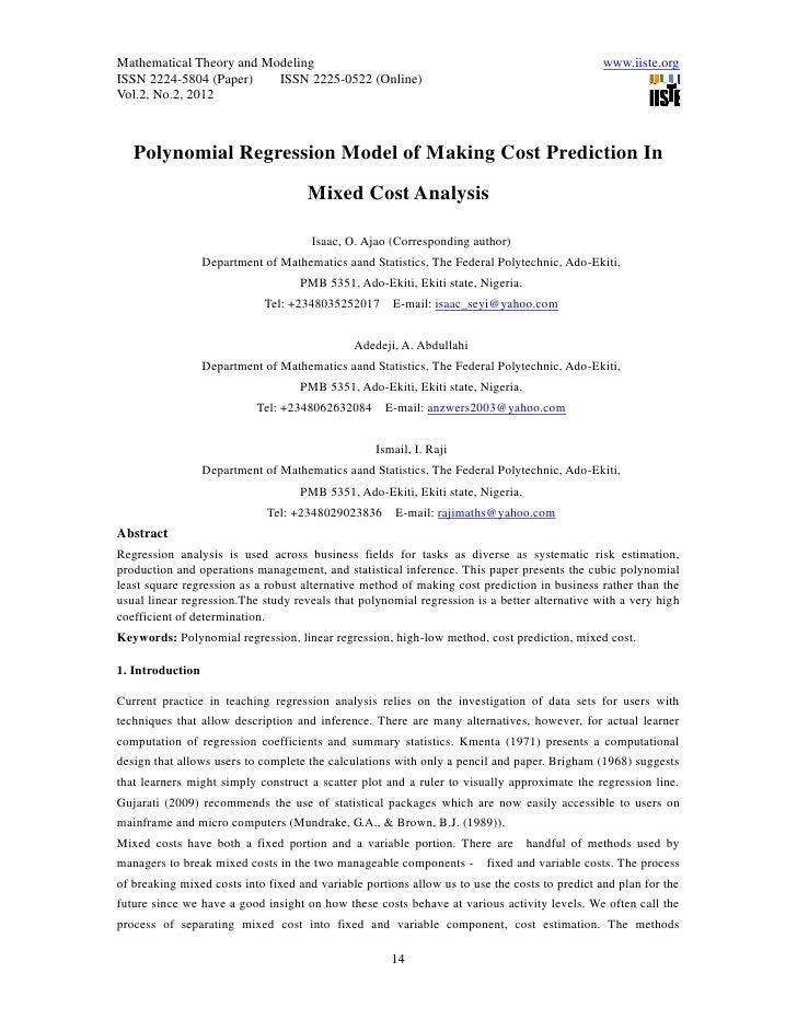Mathematical Theory and Modeling                                                               www.iiste.orgISSN 2224-5804...