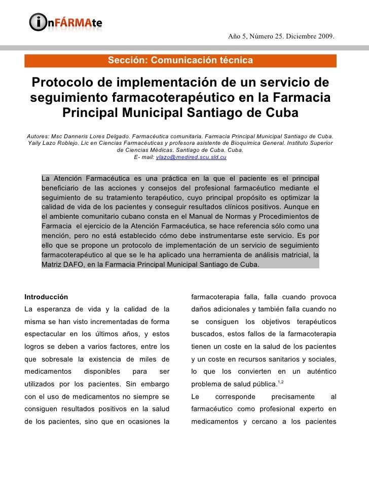 11   Protocolo Seguimiento Farmacia Principal