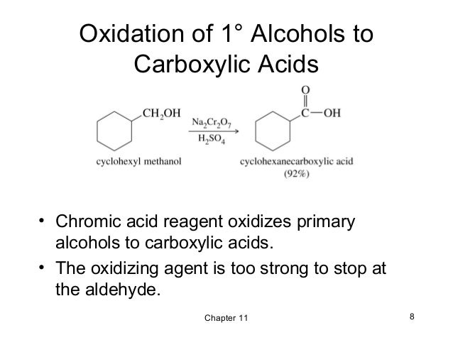 oxidation of alcohol lab Classifications of alcohols experiment secondary alcohol in the other hand undergoes oxidation reaction but will react with a medium speed under halogen.