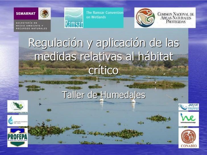 Regulación sobre Humedales