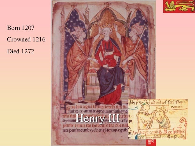 11. S2013 Henry III