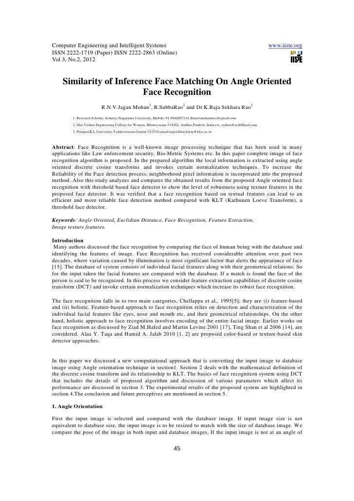 Computer Engineering and Intelligent Systems                                                                              ...