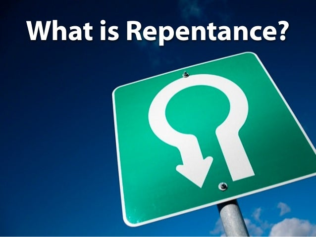 What   U-Turn Sign       is Repentance?