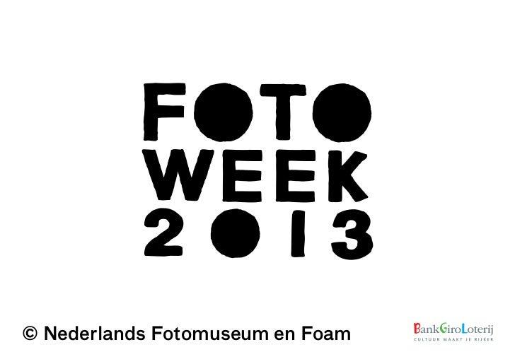 © Nederlands Fotomuseum en Foam