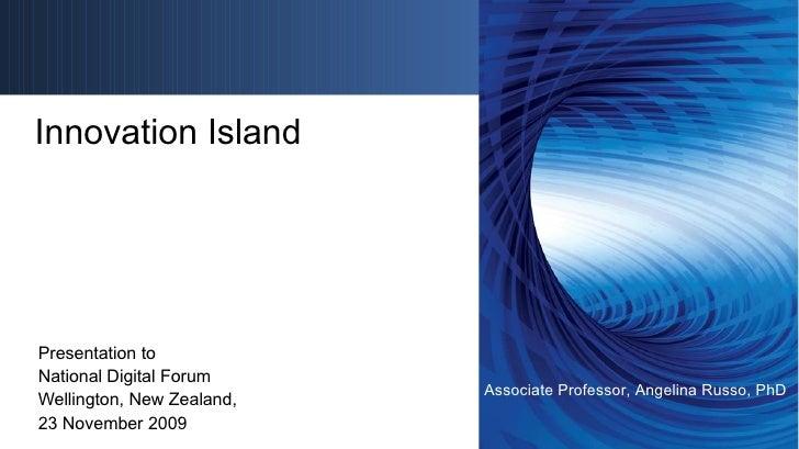 Angelina Russo - Innovation Island