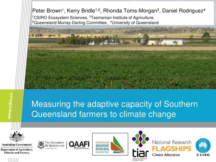 Peter Brown1, Kerry Bridle1,2, Rhonda Toms-Morgan3, Daniel Rodriguez41CSIRO Ecosystem Sciences, 2Tasmanian Institute of Ag...
