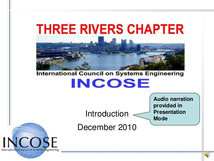 Audio narration provided in Presentation Mode<br />Introduction<br />December 2010<br />