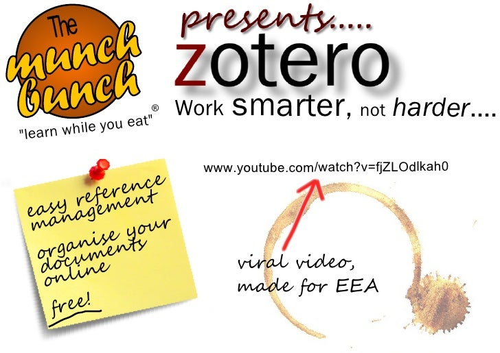 "The    ch  un h m nc bu ""learn whi                      ®             le you eat""                          Work   smarter,..."