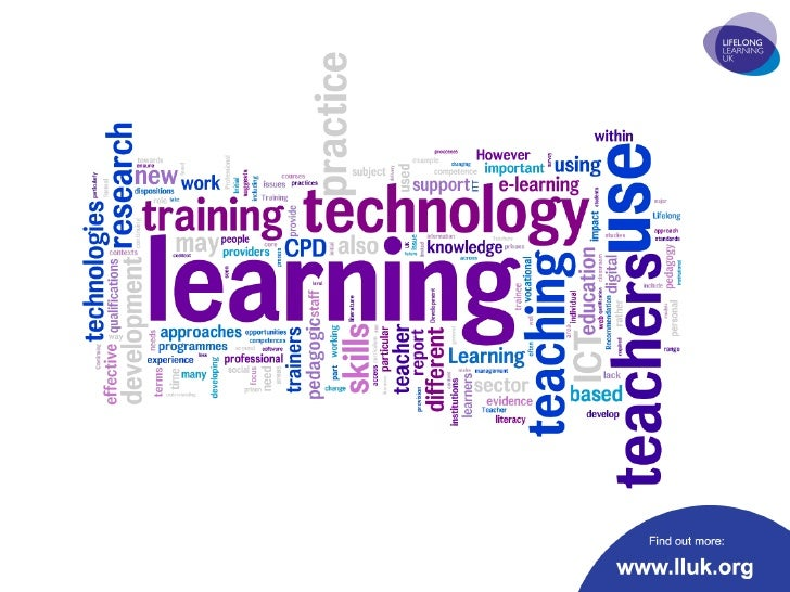 Technology in teaching and learning in the lifelong learning sector - research and recommendations