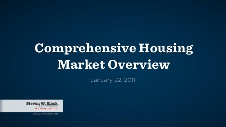 Comprehensive Napa Valley Housing Market Overview 01/22/11