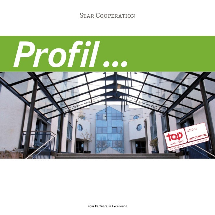 Star CooperationProfil ...       Your Partners in Excellence