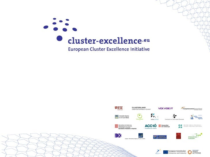 110127 Cluster Excellence.eu Project Presentation_public