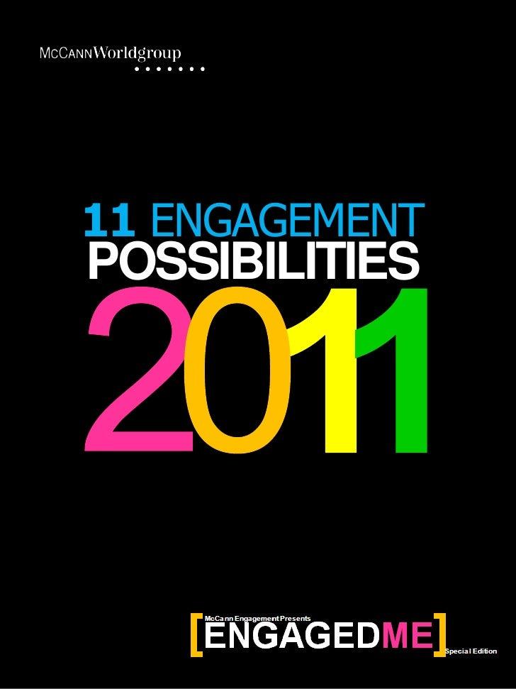 11 ENGAGEMENTPOSSIBILITIES