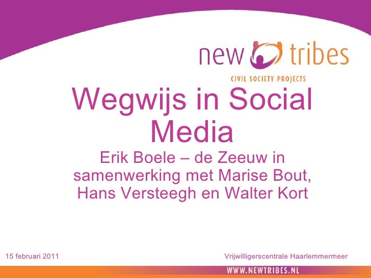 110215 training wegwijs in social media haarlemmermeer