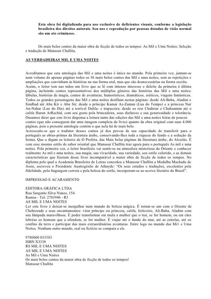 Esta obra foi digitalizada para uso exclusivo de deficientes visuais, conforme a legislação         brasileira dos direito...