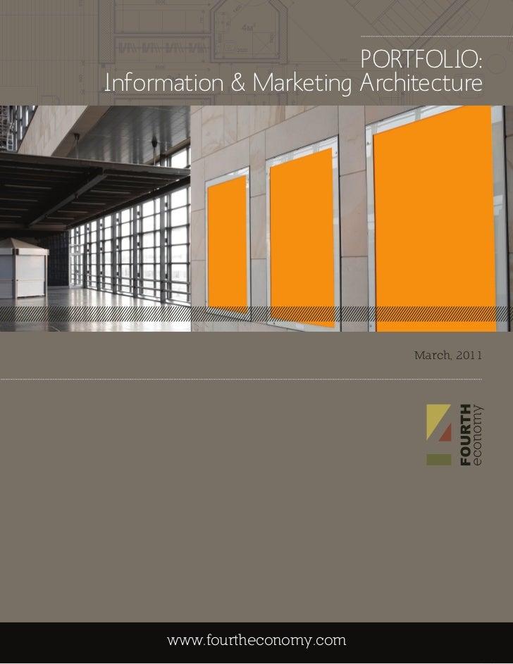 Information amp Marketing Architecture Portfolio