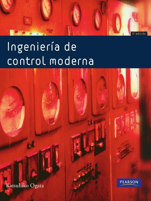 Ingeniería de  control moderna  5ª edición  Katsuhiko Ogata