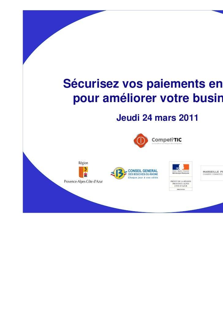 2011 03 24 Paiements en ligne by competitic