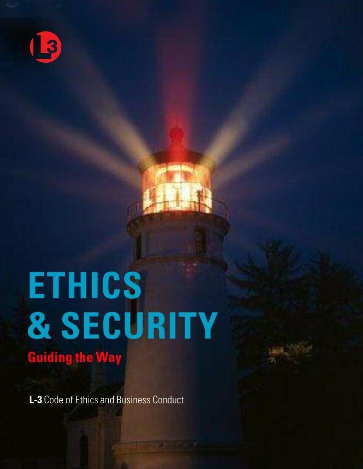 l3 comunications ethics