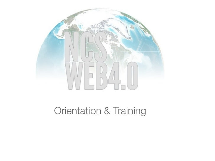 Orientation & Training
