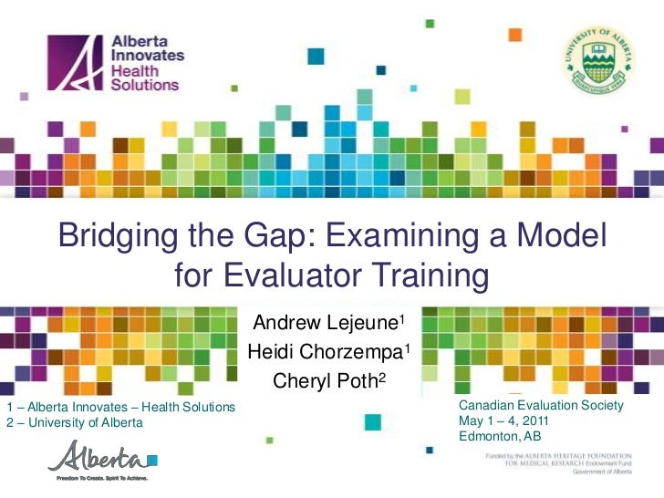 Bridging the Gap: Examining a Model for Evaluator Training