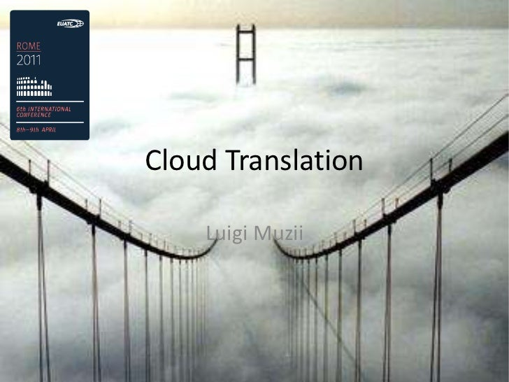 Cloud Translation