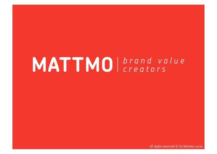 About Mattmo China Complete
