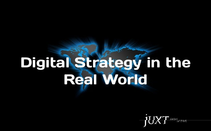 Digital Marketing in the Real World