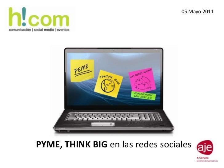 Workshop de Marta Carballo para Aje Coruña _ Pyme Think Big en las redes sociales