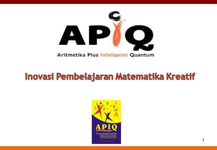 110509 inhouse program_apiq