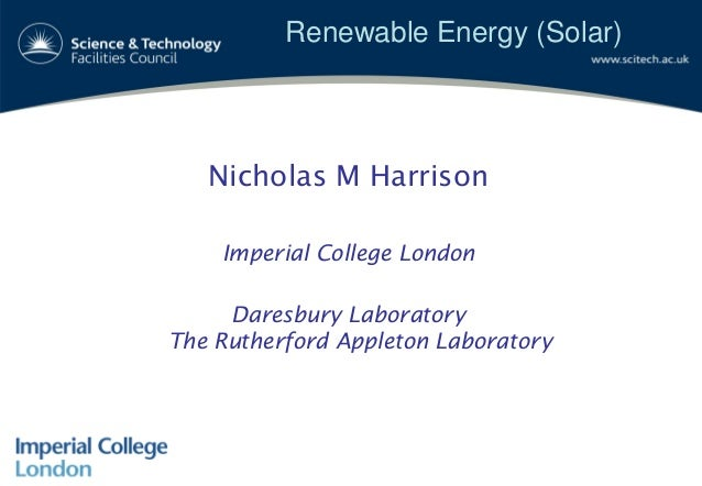 Science Vale UK energy event renewable energy technology - solar