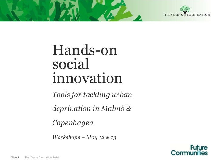 Hands-on                              social                              innovation                              Tools fo...