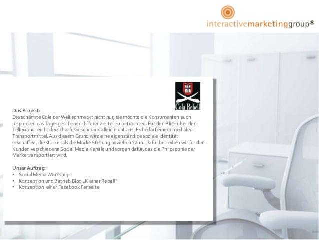 Das Projekt:Die schärfste Cola der Welt schmeckt nicht nur, sie möchte die Konsumenten auchinspirieren das Tagesgeschehen ...