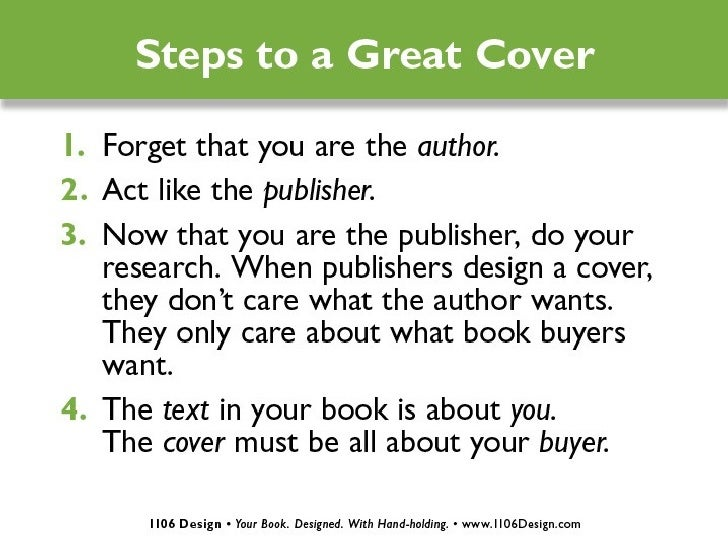 How To Make A Good Book Cover Design : Book cover design how to make a great