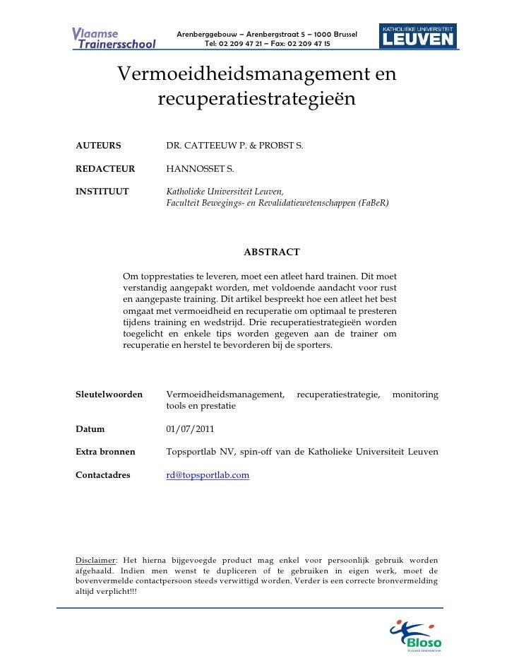 Arenberggebouw – Arenbergstraat 5 – 1000 Brussel                                Tel: 02 209 47 21 – Fax: 02 209 47 15     ...