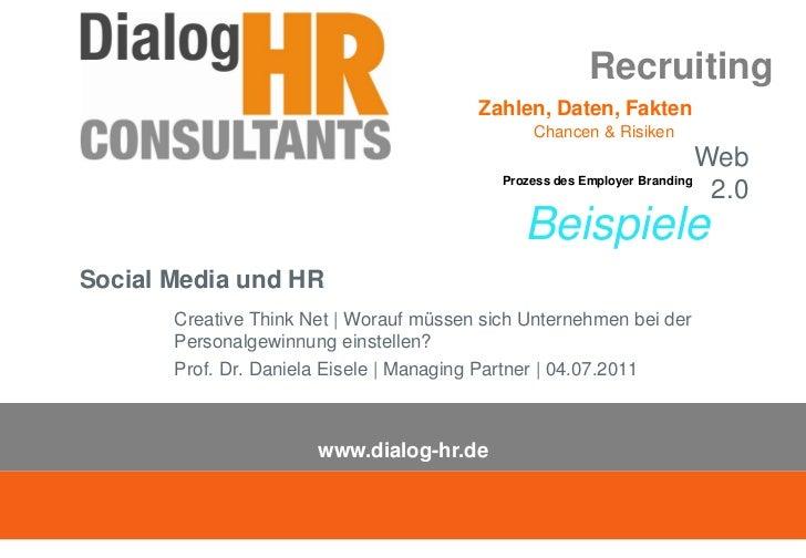 Recruiting                                         Zahlen, Daten, Fakten                                                Ch...