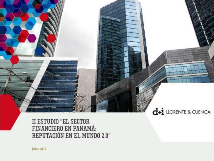 II Estudio El Sector Financiero en Panamá: Reputación en el mundo 2.0