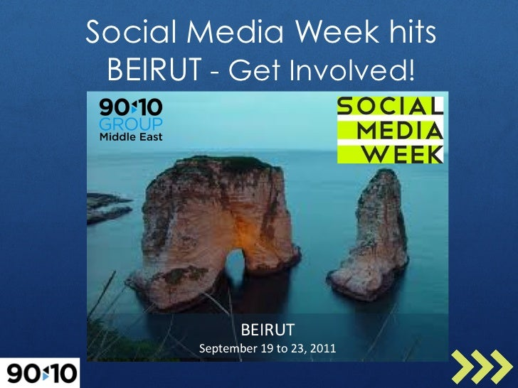 Social Media Week hits BEIRUT - Get Involved!