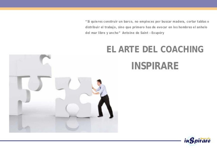 El arte del coaching inspirare