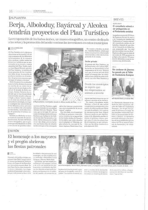 110816 plan turístico alpujarra almeriense centros temáticos la voz