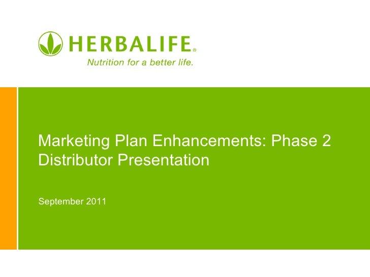 Markting Plan Enhancements Ppt Usen