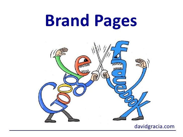 Brand Pages<br />davidgracia.com<br />