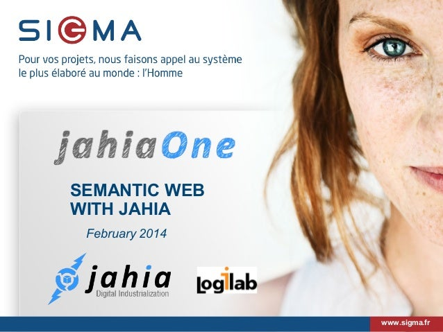 JahiaOne - Semantic Web with Jahia