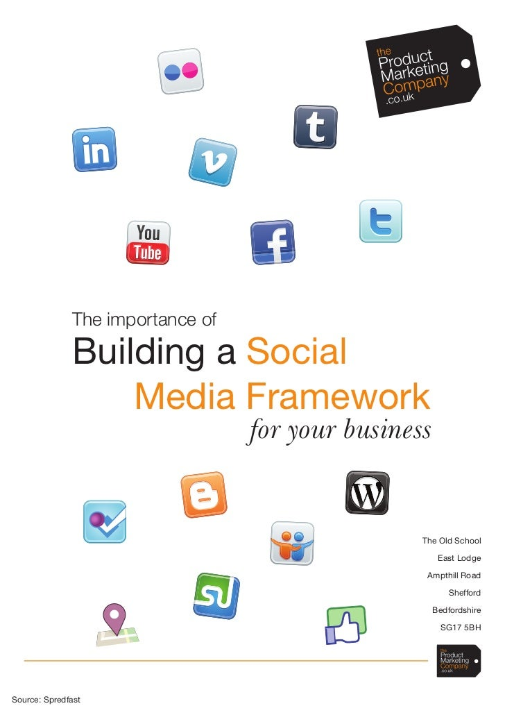The importance of              Building a Social                  Media Framework                                  for you...