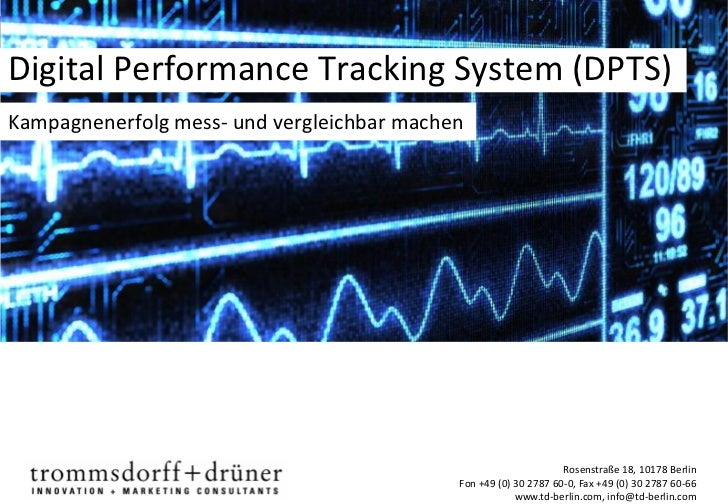 Digital Performance Tracking