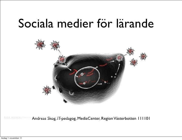 111101 sociala medier i skolan