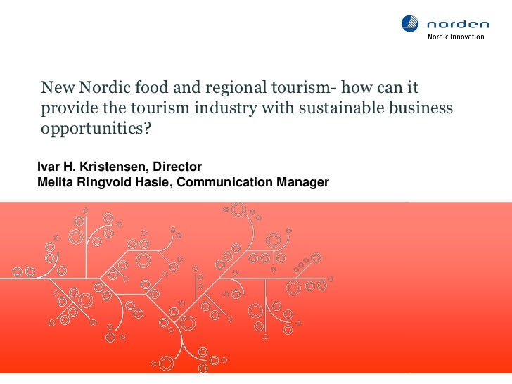 New Nordic food and regional tourism
