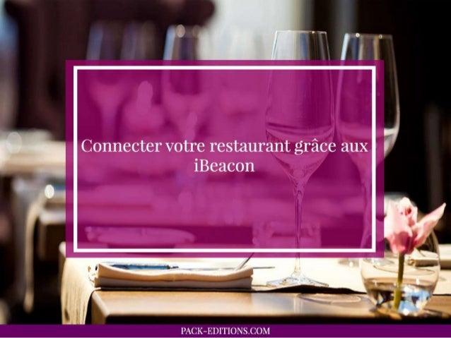 Connecter votre restaurant grâce aux iBeacon